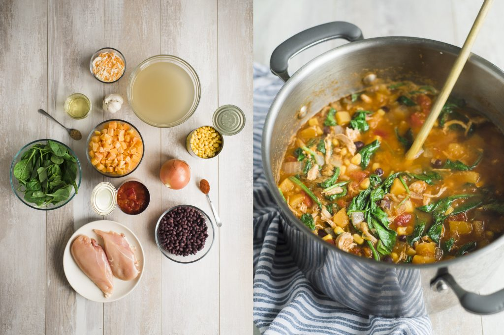 an improvised, perfect bowl of soup recipe