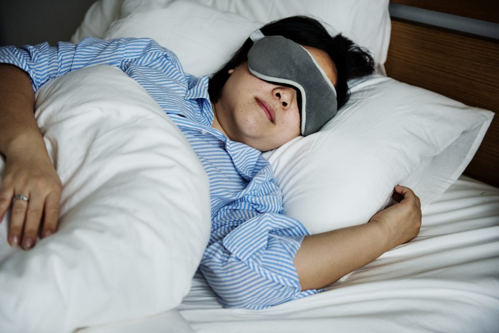 Relieve stress through sleep