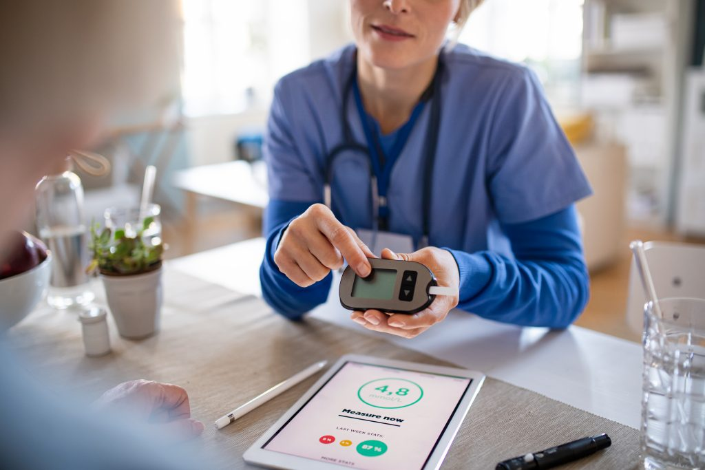 nurse at 360 care who is a diabetes practitioner